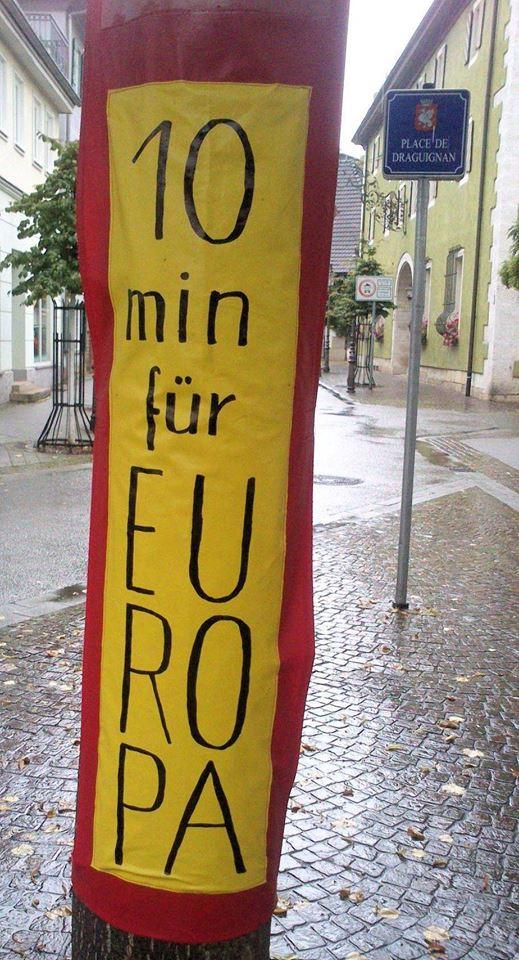 10 Minuten für Europa