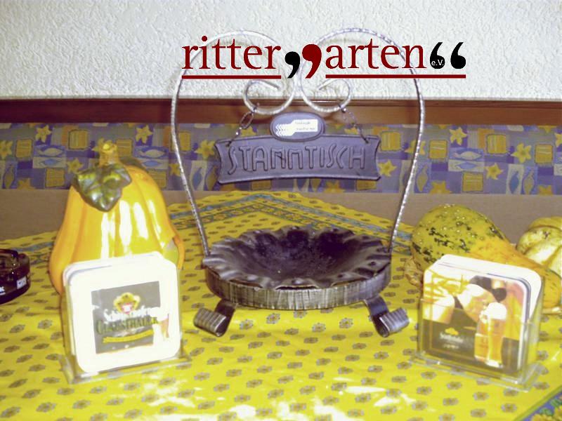 Rittergarten-Stammtisch